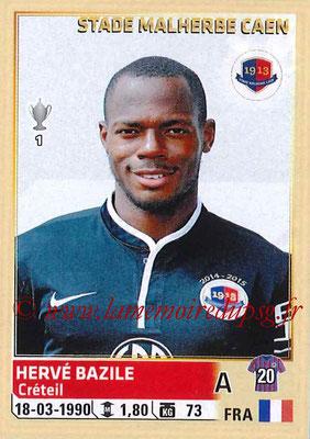 2014-15 - Panini Ligue 1 Stickers - N° 066 - Hervé BAZILE (SM Caen)
