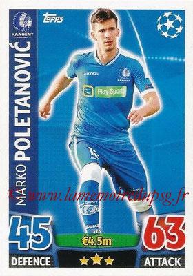 2015-16 - Topps UEFA Champions League Match Attax - N° 313 - Marko POLETANOVIC (KAA Gent)