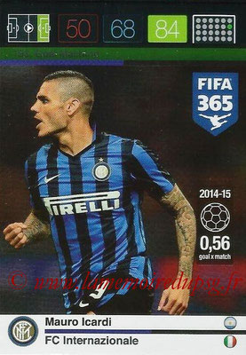 2015-16 - Panini Adrenalyn XL FIFA 365 - N° 193 - Mauro ICARDI (FC Internazionale) (Goal Machine)