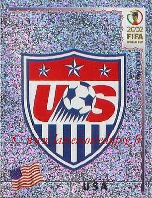 2002 - Panini FIFA World Cup Stickers - N° 278 - Logo Etats-Unis