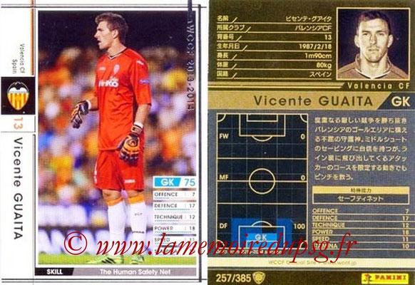 2013-14 - WCCF - N° 257 - Vicente GUAITA (FC Valence)