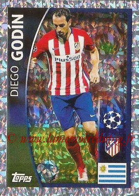 2015-16 - Topps UEFA Champions League Stickers - N° 154 - Diegio GODIN (Club Atlético de Madrid)