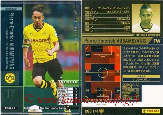 2013-14 - WCCF - N° RGS1 - Pierre-Emerick AUBAMEYANG (Borussia Dortmund) (Rising Star)