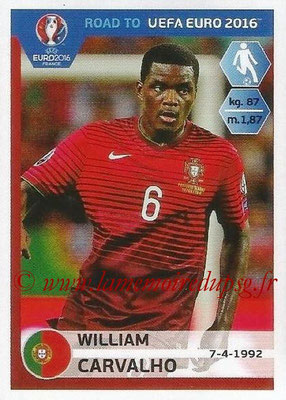 Panini Road to Euro 2016 Stickers - N° 233 - William CARVALHO (Portugal)
