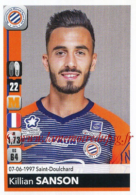 2018-19 - Panini Ligue 1 Stickers - N° 265 - Killian SANSON (Montpellier)