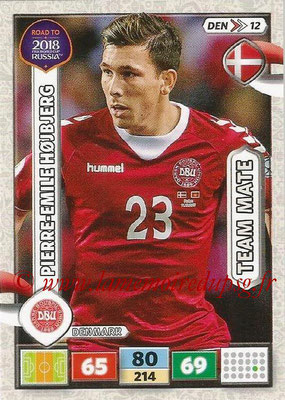 2018 - Panini Road to FIFA World Cup Russia Adrenalyn XL - N° DEN12 - Pierre-Emile HOJBJERG (Danemark)