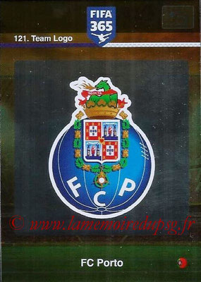 2015-16 - Panini Adrenalyn XL FIFA 365 - N° 121 - Ecusson FC Porto (Team Logo)