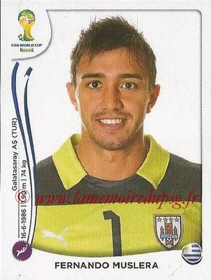 2014 - Panini FIFA World Cup Brazil Stickers - N° 262 - Fernando MUSLERA (Uruguay)