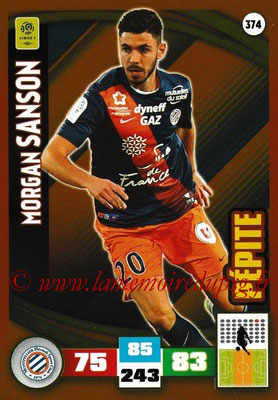 2016-17 - Panini Adrenalyn XL Ligue 1 - N° 374 - Morgan SANSON (Montpellier) (Pepite)