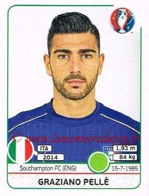 Panini Euro 2016 Stickers - N° 516 - Graziano PELLE (Italie)