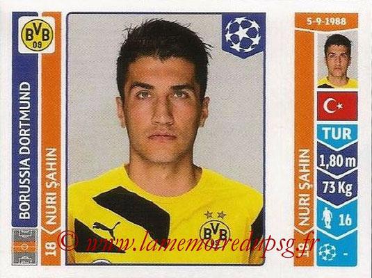 2014-15 - Panini Champions League N° 277 - Nuri SAHIN (Borussia Dortmund)