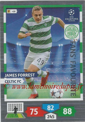 2013-14 - Adrenalyn XL champions League N° 299 - James FORREST (Celtic FC) (Fans' Favourite)