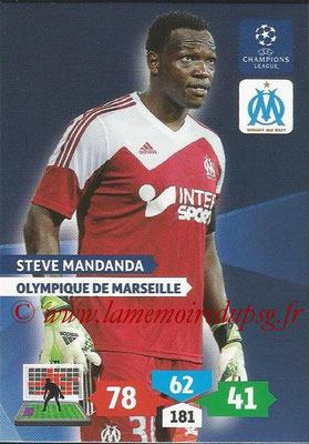 2013-14 - Adrenalyn XL champions League N° 208 - Steve MANDANDA (Olympique de Marseille)