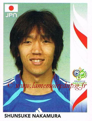 2006 - Panini FIFA World Cup Germany Stickers - N° 446 - Shunsuke NAKAMURA (Japon)