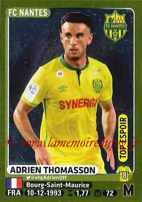 2015-16 - Panini Ligue 1 Stickers - N° 307 - Adrien THOMASSON (FC Nantes) (Top espoir)
