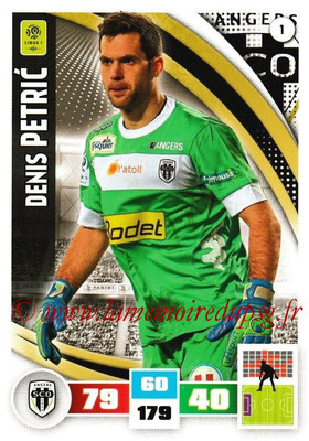 2016-17 - Panini Adrenalyn XL Ligue 1 - N° 001 - Denis PETRIC (Angers)
