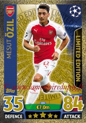 2015-16 - Topps UEFA Champions League Match Attax - N° LE6 - Mesut ÖZIL (Arsenal FC) (Limited Edition Gold)