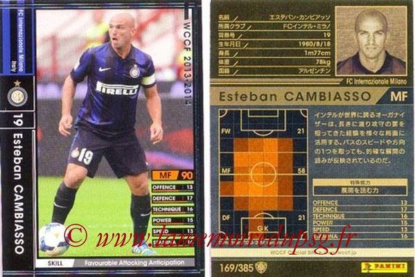 2013-14 - WCCF - N° 169 - Esteban CAMBIASSO (Inter Milan)