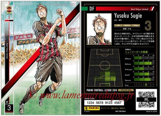 Panini Football League 2014 - PFL04E - N° 008 - Yusaku Sugie (East Tokyo United)