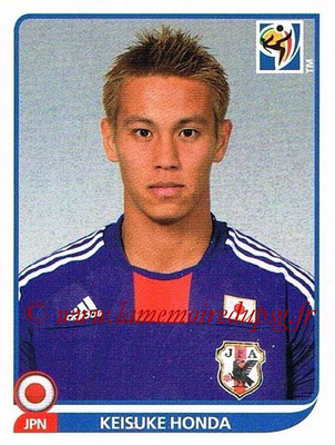 2010 - Panini FIFA World Cup South Africa Stickers - N° 383 - Keisuke HONDA (Japon)
