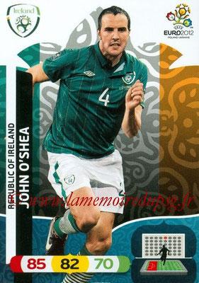 Panini Euro 2012 Cards Adrenalyn XL - N° 179 - John O'SHEA (Eire)