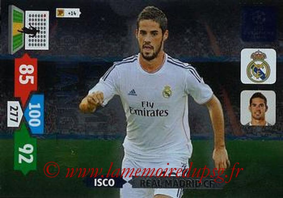 2013-14 - Adrenalyn XL champions League N° 350 - ISCO (Real Madrid CF) (Game Changer)