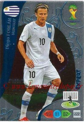 2014 - Panini FIFA World Cup Brazil Adrenalyn XL - N° 386 - Diego FORLAN (Uruguay) (Expert)