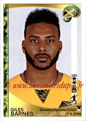 Panini Copa America Centenario USA 2016 Stickers - N° 276 - Giles BARNES (Jamaïque)