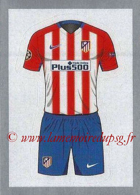 2015-16 - Topps UEFA Champions League Stickers - N° 152 - Maillot Domicile (Club Atlético de Madrid)