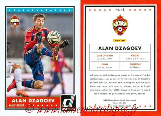 2015 - Panini Donruss Soccer - N° 048 - Alan DZAGOEV (CSKA Moscou)