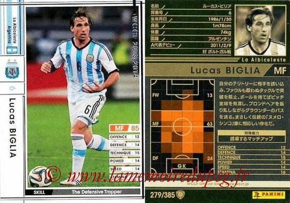 2013-14 - WCCF - N° 279 - Lucas BIGLIA (Argentine)