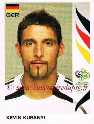 2006 - Panini FIFA World Cup Germany Stickers - N° 034 - Kevin KURANYI (Allemangne)