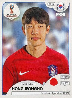 2018 - Panini FIFA World Cup Russia Stickers - N° 498 - Hong JEONGHO (Corée du Sud)