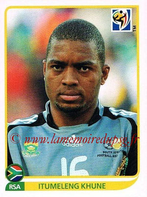 2010 - Panini FIFA World Cup South Africa Stickers - N° 032 - Itumeleng-KHUNE (Afrique du Sud)