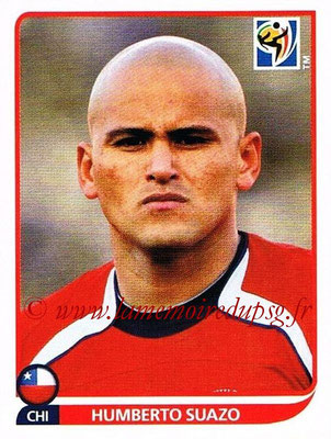 2010 - Panini FIFA World Cup South Africa Stickers - N° 636 - Humberto SUAZO (Chili)