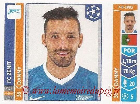 2014-15 - Panini Champions League N° 208 - DANNY (FC Zenit)