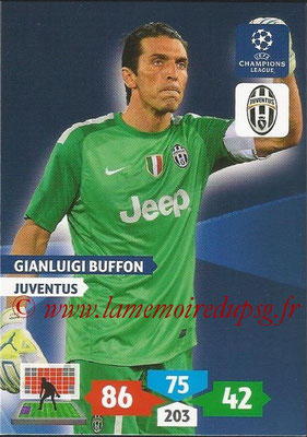 2013-14 - Adrenalyn XL champions League N° 145 - Gianluigi BUFFON (Juventus FC)