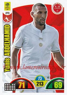 2018-19 - Panini Adrenalyn XL Ligue 1 - N° 273 - Yunis ABDELHAMID (Reims)
