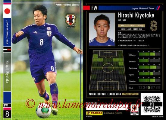 Panini Football League 2014 - PFL06 - N° 147 - Hiroshi KIYOTAKE (Japon)