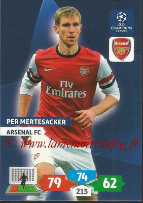 2013-14 - Adrenalyn XL champions League N° 047 - Per MERTESACKER (Arsenal FC)
