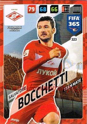 2017-18 - Panini FIFA 365 Cards - N° 323 - Salvatore BOCCHETTI (Spartak Moscou)