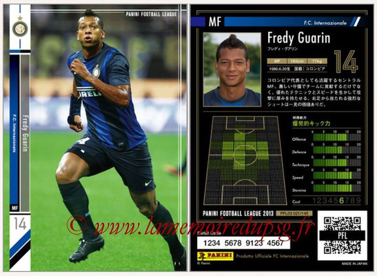 Panini Football League 2013 - PFL03 - N° 021 - Fredy Guarin (Inter Milan)
