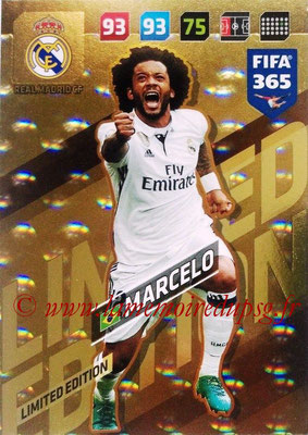 2017-18 - Panini FIFA 365 Cards - N° LE-M - MARCELO (Real Madric CF) (Limited Edition)