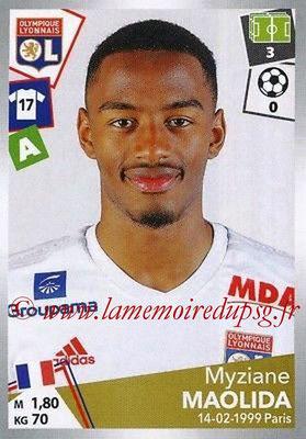2017-18 - Panini Ligue 1 Stickers - N° 201 - Myziane MAOLIDA (Lyon)