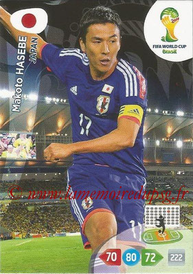 2014 - Panini FIFA World Cup Brazil Adrenalyn XL - N° 230 - Makoto HASEBE (Japon)