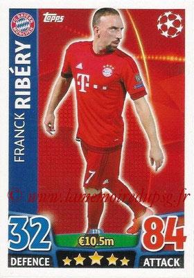 2015-16 - Topps UEFA Champions League Match Attax - N° 176 - Franck RIBÉRY (FC Bayern Munich)
