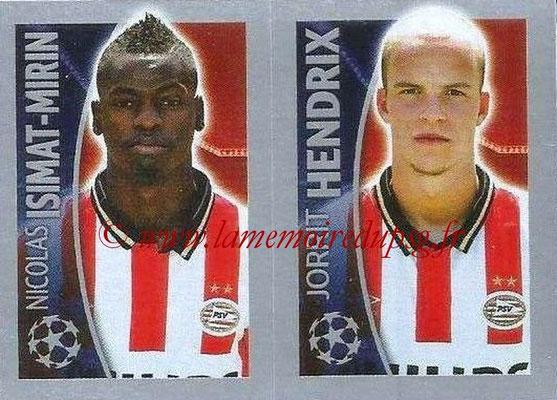 2015-16 - Topps UEFA Champions League Stickers - N° 102 - Nicolas ISIMAT-MIRIN + Jorrit HENDRIX (PSV Eindhoven)