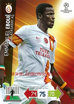 2012-13 - Adrenalyn XL champions League N° 101 - Emmanuel EBOUE (Galatasaray AS)