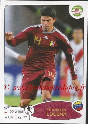 2014 - Panini Road to FIFA World Cup Brazil Stickers - N° 238 - Franklin LUCENA (Vénézuela)