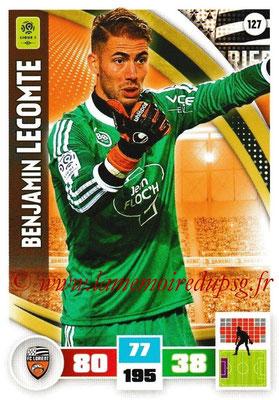 2016-17 - Panini Adrenalyn XL Ligue 1 - N° 127 - Benjamin LECOMTE (Lorient)